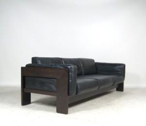 tobia scarpa 3er sofa bastiano f r gavina oder knoll international. Black Bedroom Furniture Sets. Home Design Ideas