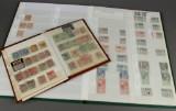 Dansk Vestindien, Slesvig. Samling frimærker, bla. porto og Zonemærker (2)