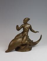Erik Cohrt, bronzeskulptur