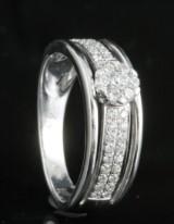 18kt diamond ring approx. 0.40ct