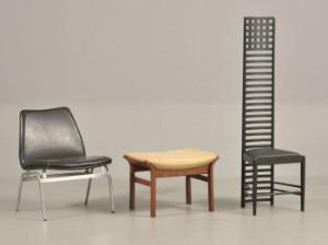 2 stole og 1 skammel betraek af skai og laeder 3 denne vare er sat til omsalg under nyt varenummer 2674928 lauritz com