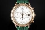 Audemars Piguet Automatic Chronograph men's watch, 18 kt. gold. c. 1990s