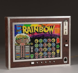 Rainbow. Væghængt spillemaskine