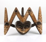 Kwele, Gabon, mask