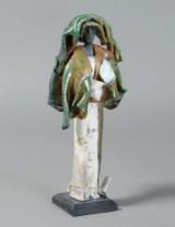 Anne-Mette Kidmose, 'Caltha', raku-figur