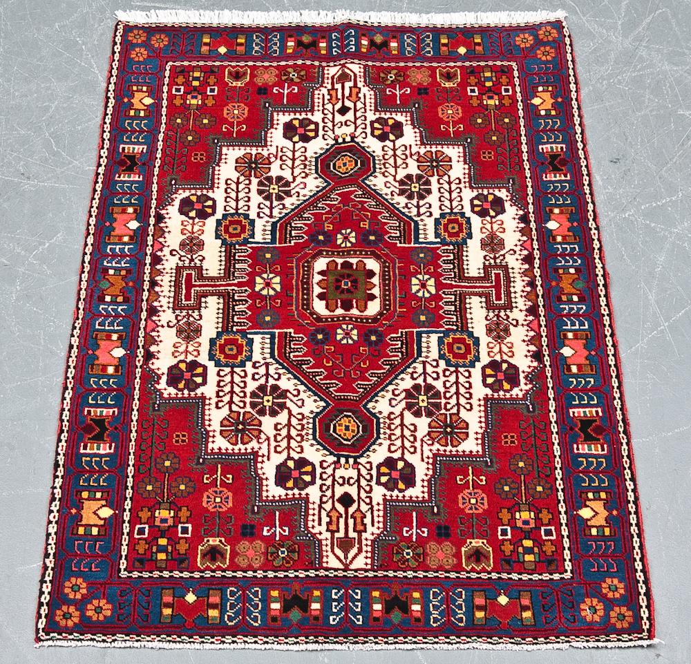 Persisk Nahavand 156 x 112 cm - Persisik Nahavand, uld med bomuld, i målene 156 x 112 cm