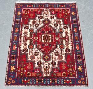 Persisk Nahavand 156 x 112 cm - Dk, Næstved, Gl. Holstedvej - Persisik Nahavand, uld med bomuld, i målene 156 x 112 cm. - Dk, Næstved, Gl. Holstedvej