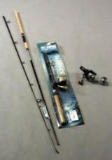 Shimano, fiskestang samt hjul (3)