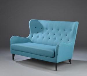 Alle nye Sits, model 'Pola'. Knapsyet sofa med høj ryg | Lauritz.com YH42