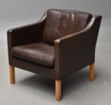 Børge Mogensen. Lounge lænestol, model 2421