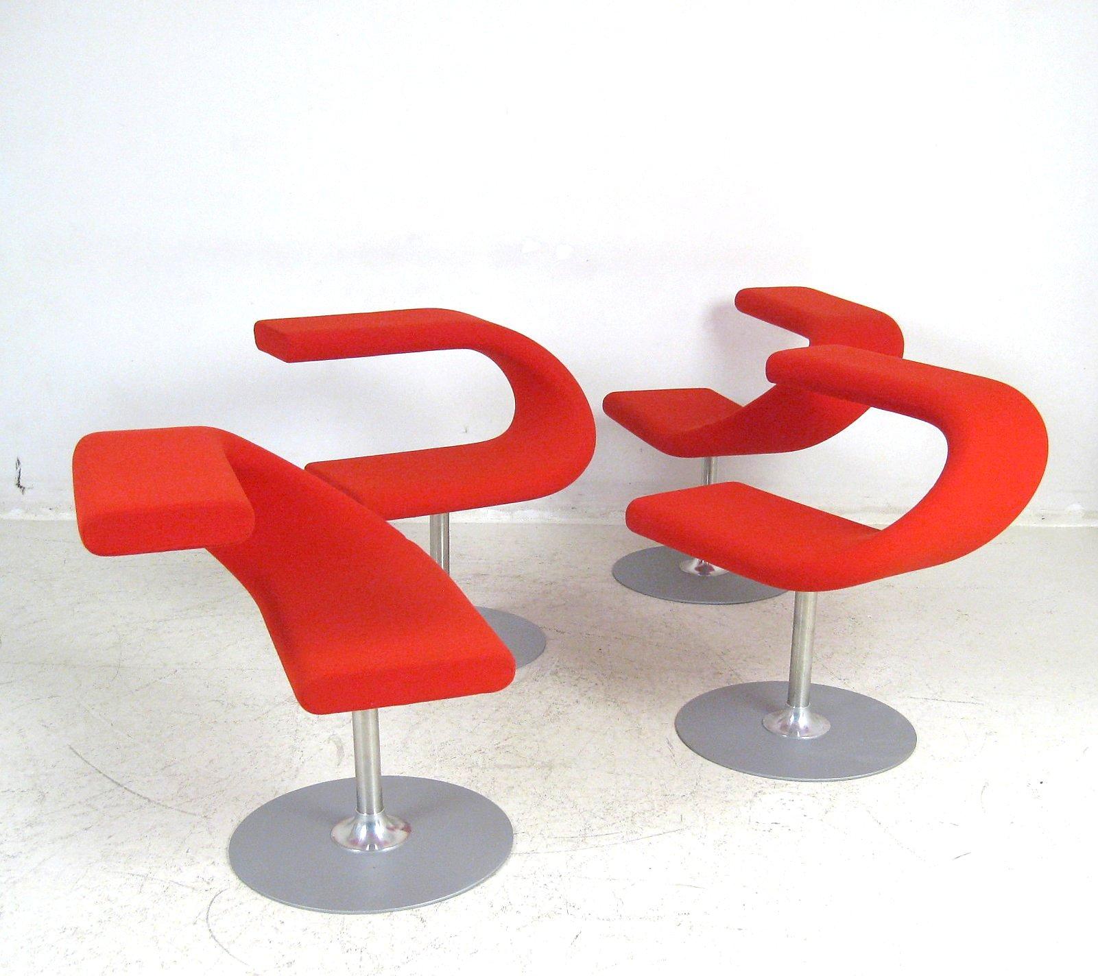 Fredrik Mattson, Set Easy Chairs / Sessel Modell Innovation C Für Bla  Station (4) | Lauritz.com