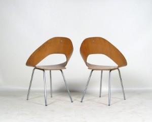 m bel schichtholz st hle der 1950 60er jahre von thonet 2 de d sseldorf. Black Bedroom Furniture Sets. Home Design Ideas