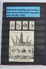 Samling Danmark postfrisk. (1)
