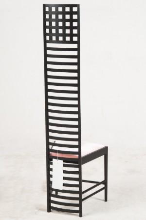 charles rennie mackintosh stuhl modell 292 hill house chair 1 ausstellungsst ck f r cassina. Black Bedroom Furniture Sets. Home Design Ideas