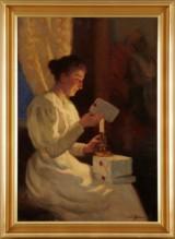 Emil Lindgren oljemålning