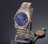 Rolex Datejust. Men's watch, 18 kt. gold and steel, 1987