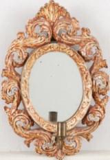 Spegellampett barockstil