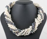 8 row fresh water pearl necklace