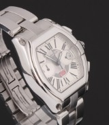 Cartier 'Roadster - Germany 2006'. Limited edition men's watch, steel, 2006