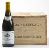 5 fl. Bâtard-Montrachet Domaine Leflaive 2001. (5)