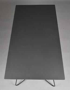 ware 3003434 ok design tisch 39 on a string 39 schwarzes. Black Bedroom Furniture Sets. Home Design Ideas