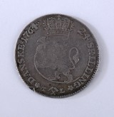 Norge, Frederik V, 24 skilling 1764 - H. 2B, NM 21