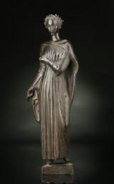 Einar Utzon-Frank, 'Beatrice'. Figure, patinated bronze