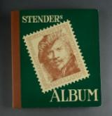 Holland. Samling frimærker i Stender album