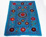 Tæppe, design 'Oz Suzani', ca. 200 x 150 cm