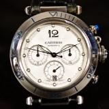 Herrarmbandsur, Cartier Pasha chronograph 2113