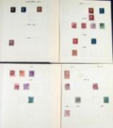 England samling 1840-1973