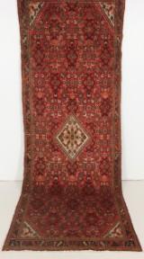 Handknuten persisk gallerimatta, Hossainabad 325 x 115 cm