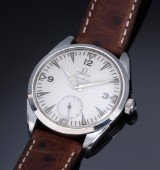Vintage Omega 'Ranchero' men's watch, steel, separate second hand, c. 1959