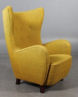 Mogens Lassen, attributed to. Wing chair, 1940's