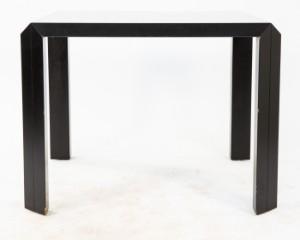 Eckschreibtisch schwarz  Rosenthal Schreibtisch Talete schwarz | Lauritz.com