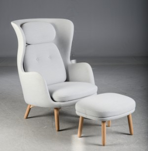 fritz hansen sessel ro 10, jaime hayon for fritz hansen. 'ro' lounge chair accompanying, Design ideen