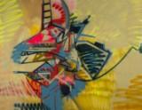 Kingpin, Uden titel, 2015, maleri