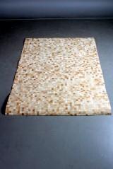 Koskindstæppe. Patchwork, 212 x 154 cm.
