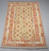 Afghansk Uzbek kelim, 293 x 192 cm