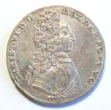 Chr. 6. 1 Krone 1731 (lille krone)