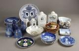 Samling diverse porcelæn (29)