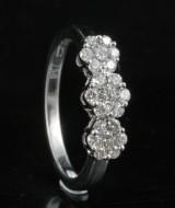 18kt diamond ring approx. 0.51ct