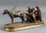 Vassily Yacovlevitch Gratchev. Russian bronze sculpture