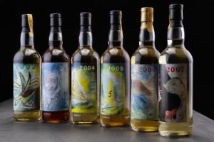 6 flasker Single Malt. 'Dansk Maltwhisky Akademi' 2002-2007 (6) - Dk, Hørsholm, Hammervej 1 - 6 flasker Single Malt. 'Dansk Maltwhisky Akademi' 2002-2007. Ubrudt årgangsrække, opbevaret korrekt. (6) - Dk, Hørsholm, Hammervej 1