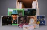 Samling Frank Sinatra plader, LP'er, Ep'er mv. (ca. 70)