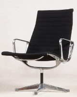 Charles & Ray Eames, aluiminium chair/lounge chair from the Aluminium Group Series EA116 for Herman Miller