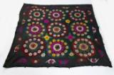 Teppich, Design 'Kilim Suzani',  ca. 246 x 246 cm