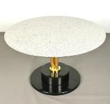 Sidebord/bord fra 1960'erne/70'erne, granit/marmor, italiensk design