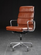 Charles Eames. Soft Pad high-back office chair, Model EA-219. Herman Miller