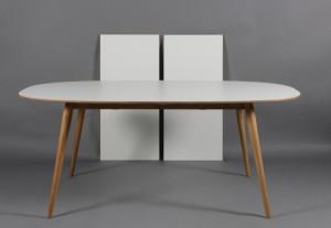 Vare 4009159 bruunmunch spisebord med to til gsplader for Table 52 oak brook